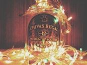 lights, drink, bottle