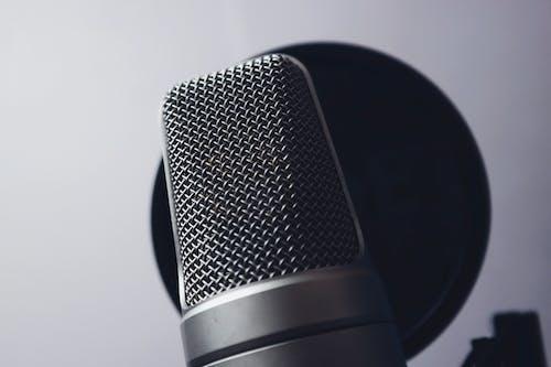 Immagine gratuita di chrome, cromo, mic, microfono