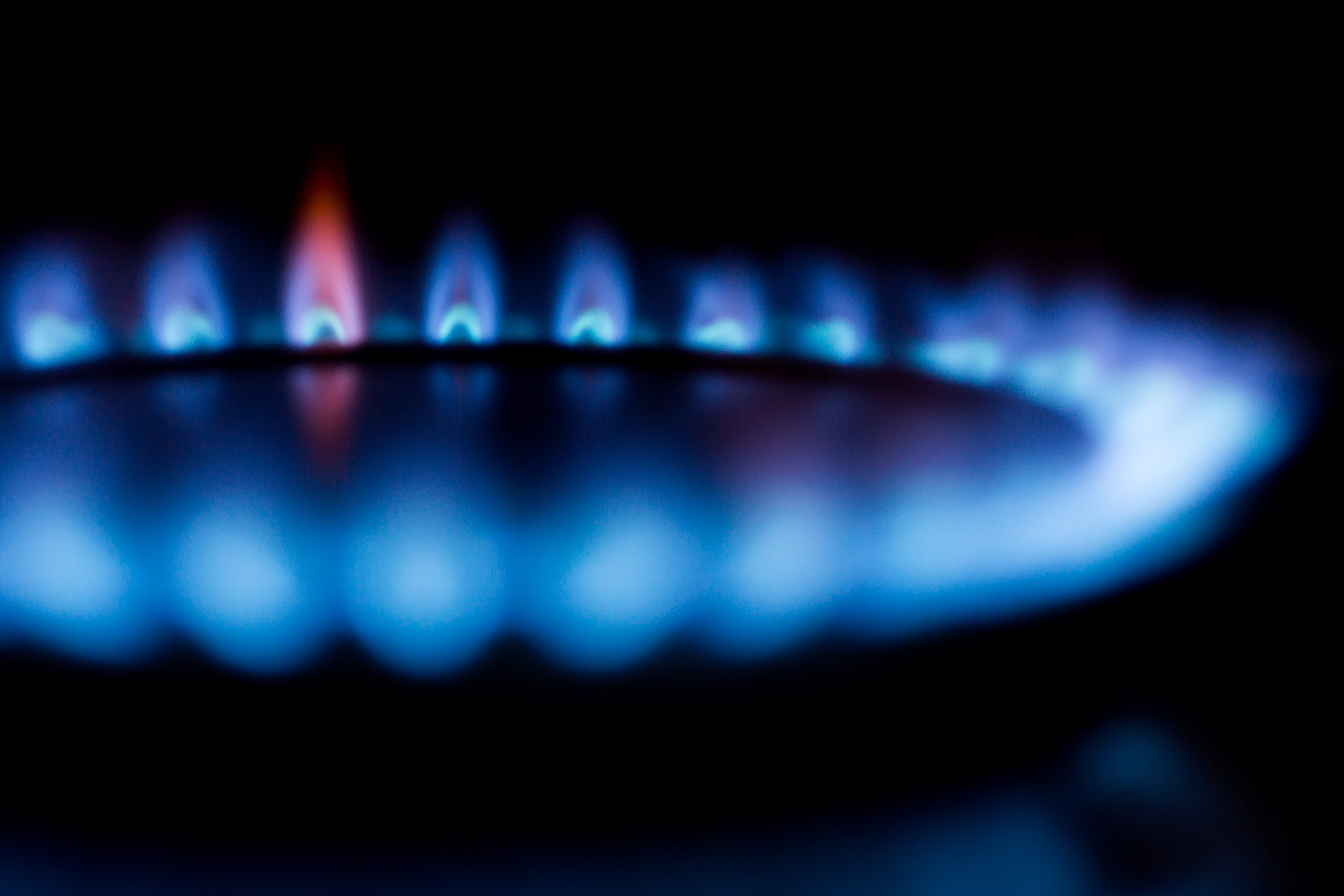 Close Up Photography of Stove Fire