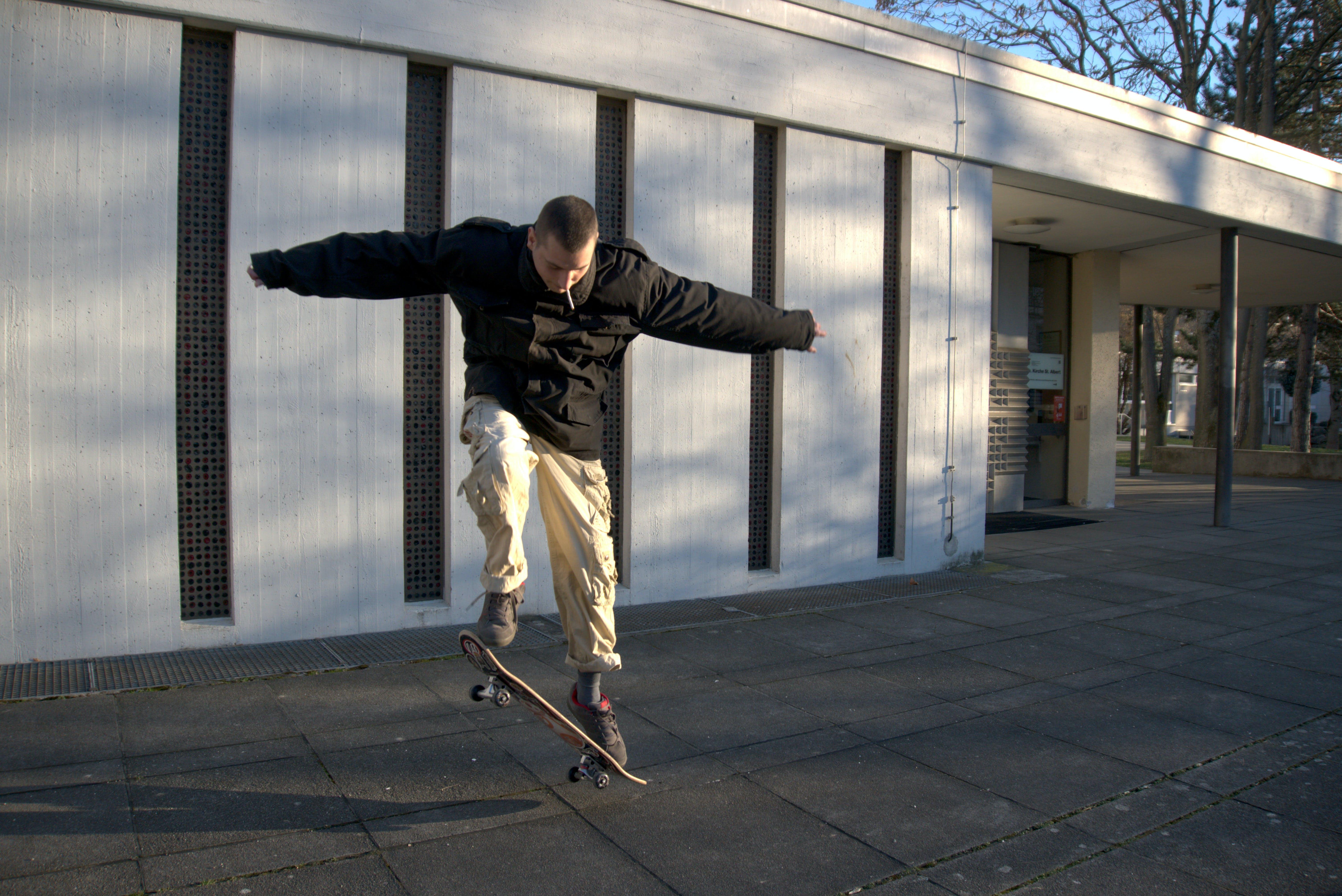 Free stock photo of skateboarder