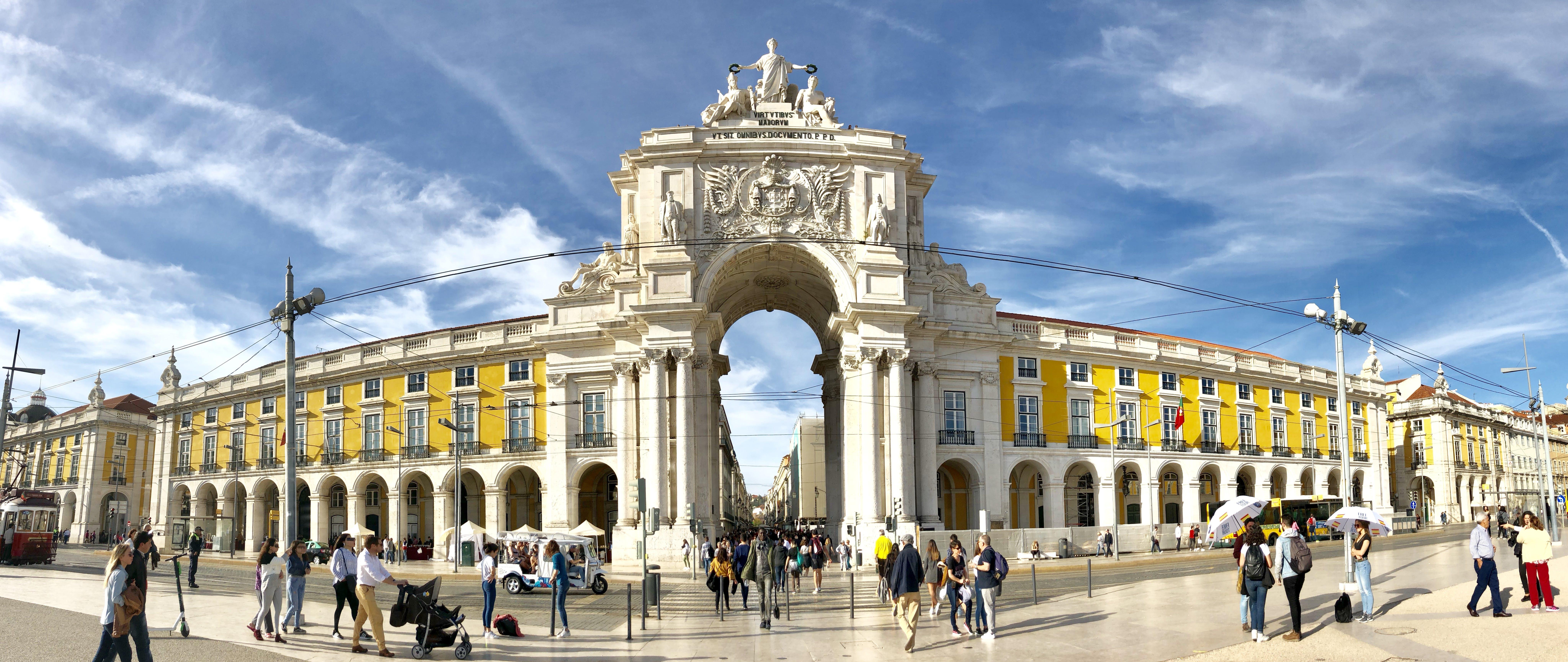 Δωρεάν στοκ φωτογραφιών με κέντρο πόλης, Λισαβόνα