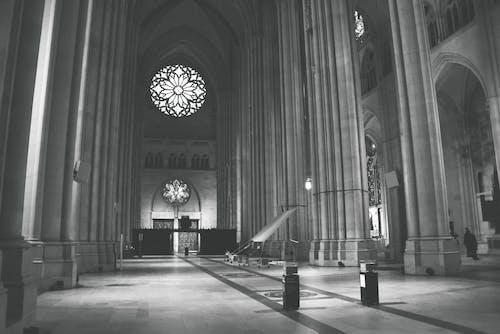 Foto d'estoc gratuïta de interior de l'església