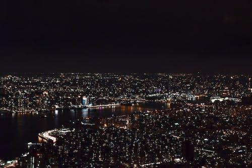 Foto d'estoc gratuïta de ciutat de nit