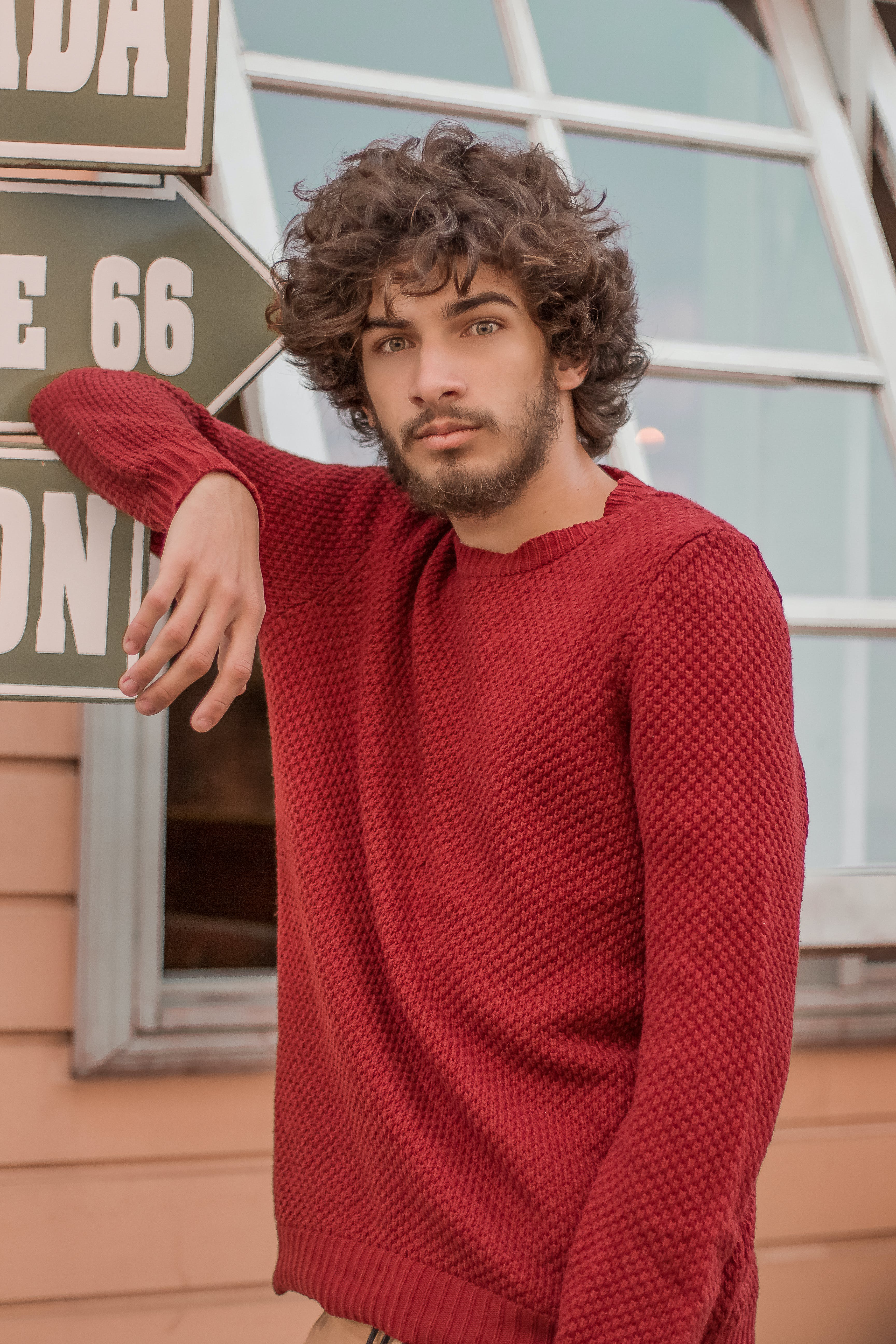 Free stock photo of beautiful, curly hair, male, portrait