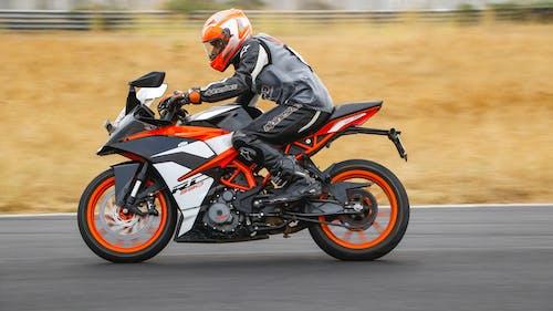 คลังภาพถ่ายฟรี ของ MotoGP, การถ่ายภาพความเร็วสูง, กีฬาอย่างเป็นทางการ, คนขี่จักรยาน