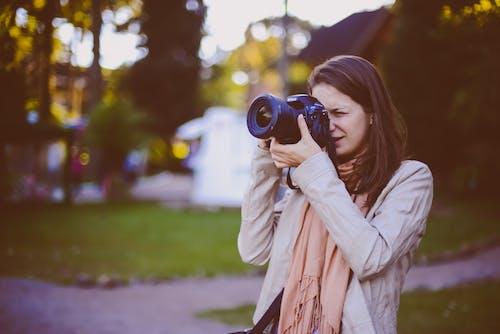 Free stock photo of taking photo