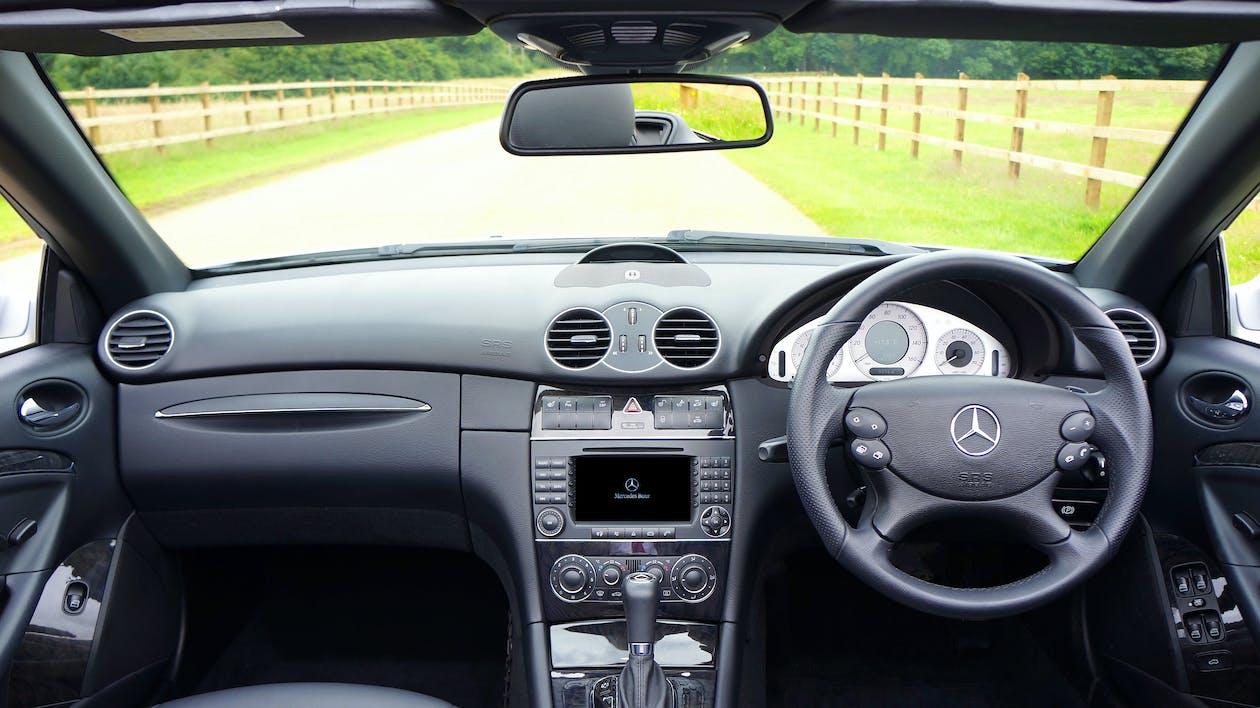 automóvil, coche, interior del coche