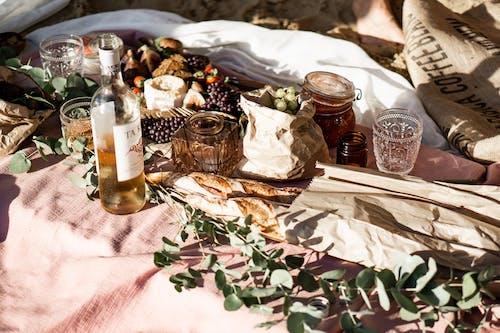 Бесплатное стоковое фото с бутылка, вино, вкусный, еда