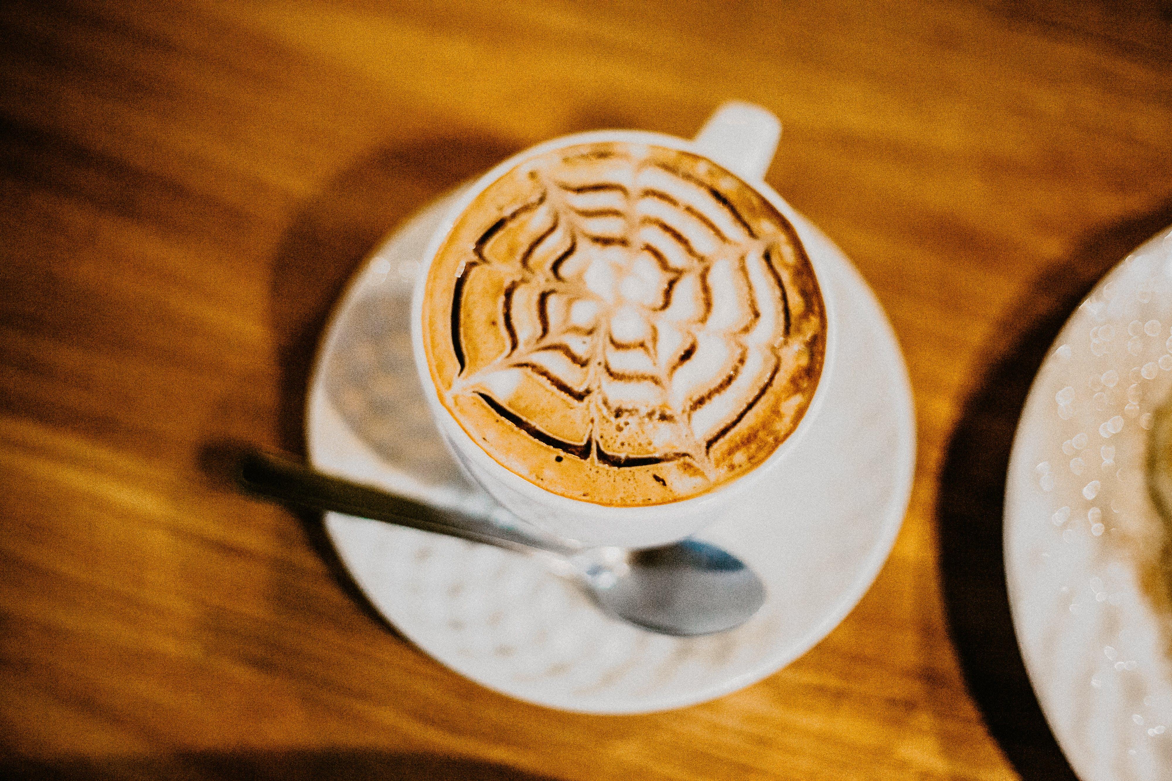 Free stock photo of coffee break, latte art