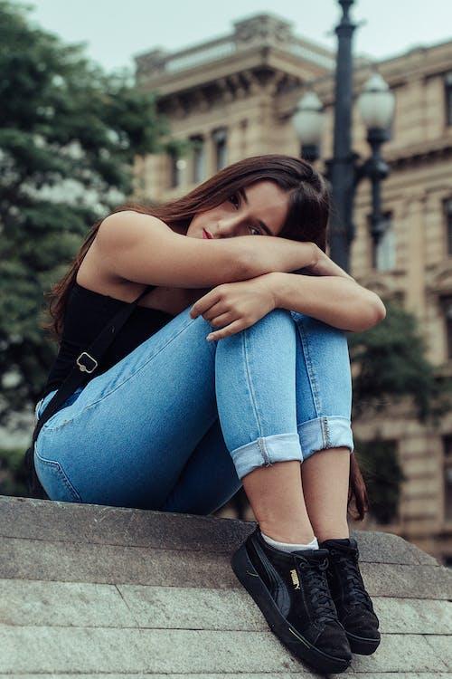 Ingyenes stockfotó divat, fesztelen, laza, nő témában