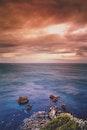 sea, landscape, sky