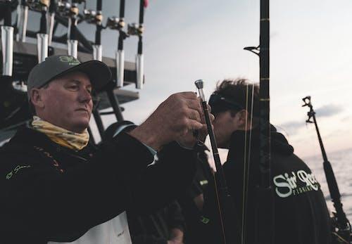 Free stock photo of fisherman, fishermen, fishing, fishing rod