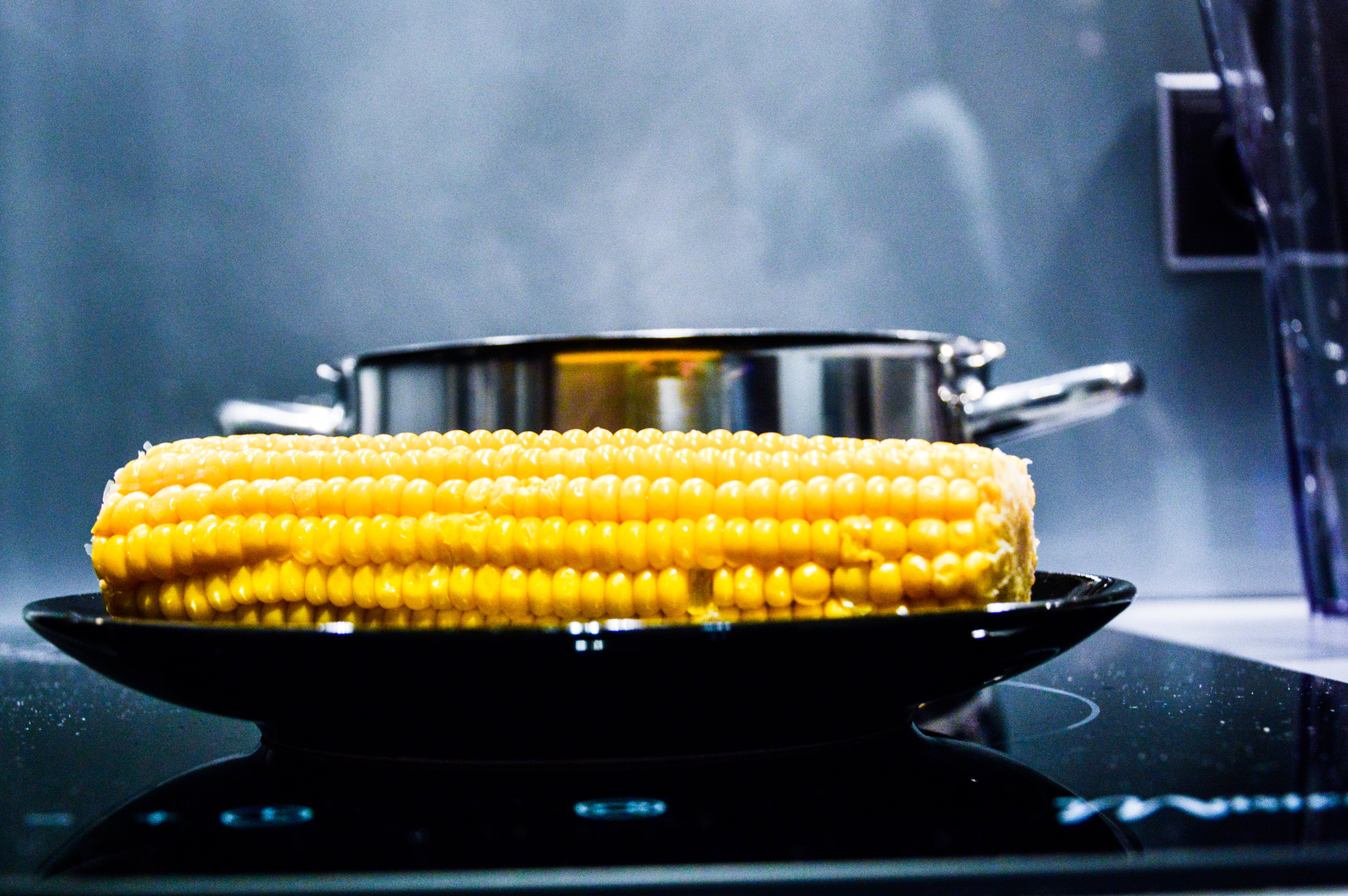 cooker, cooking, corn