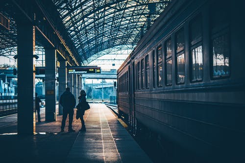 Imagine de stoc gratuită din antrena, cale ferată, gară, peron