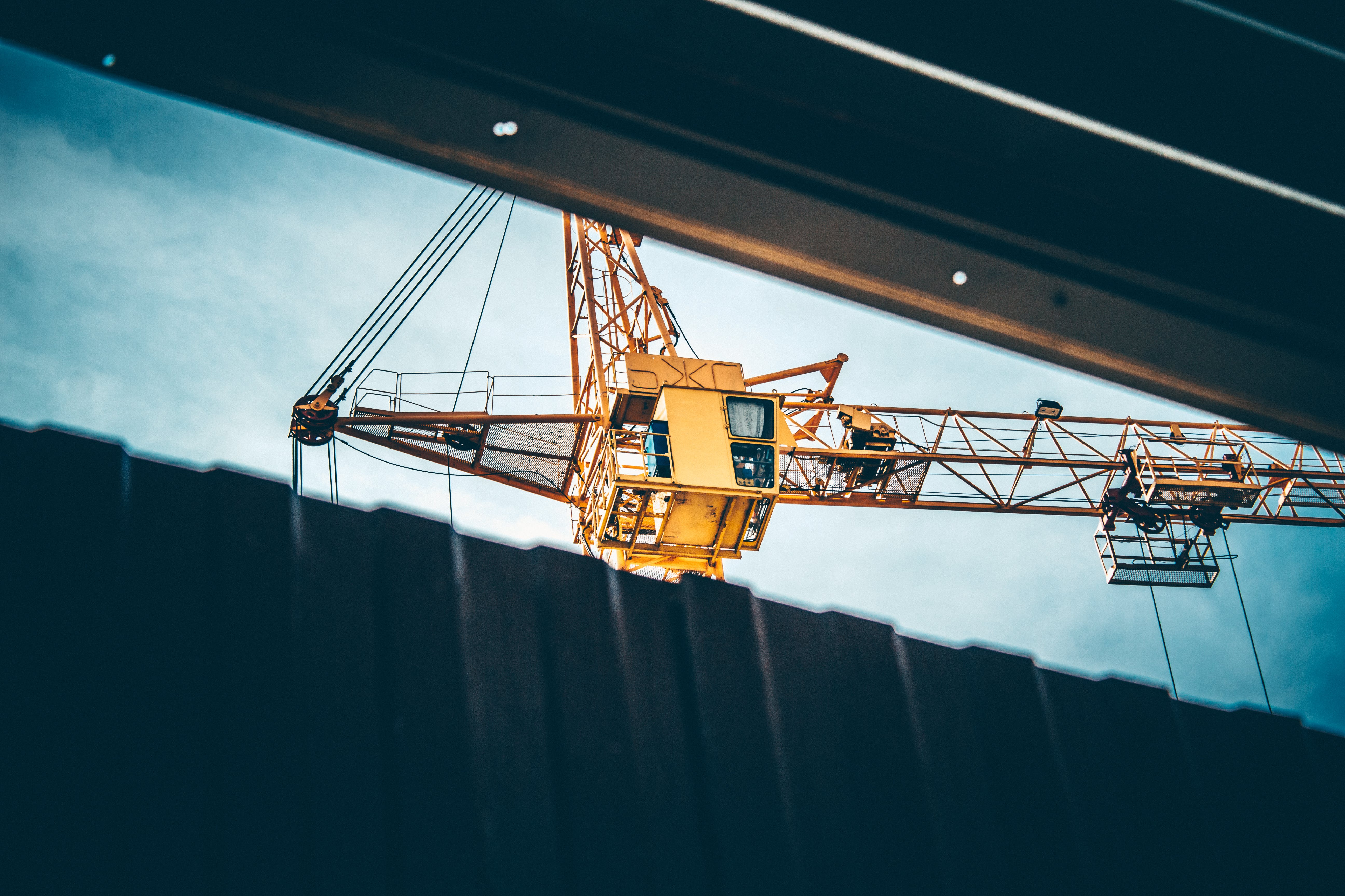 Free stock photo of building, crane, heavy industry, industrial