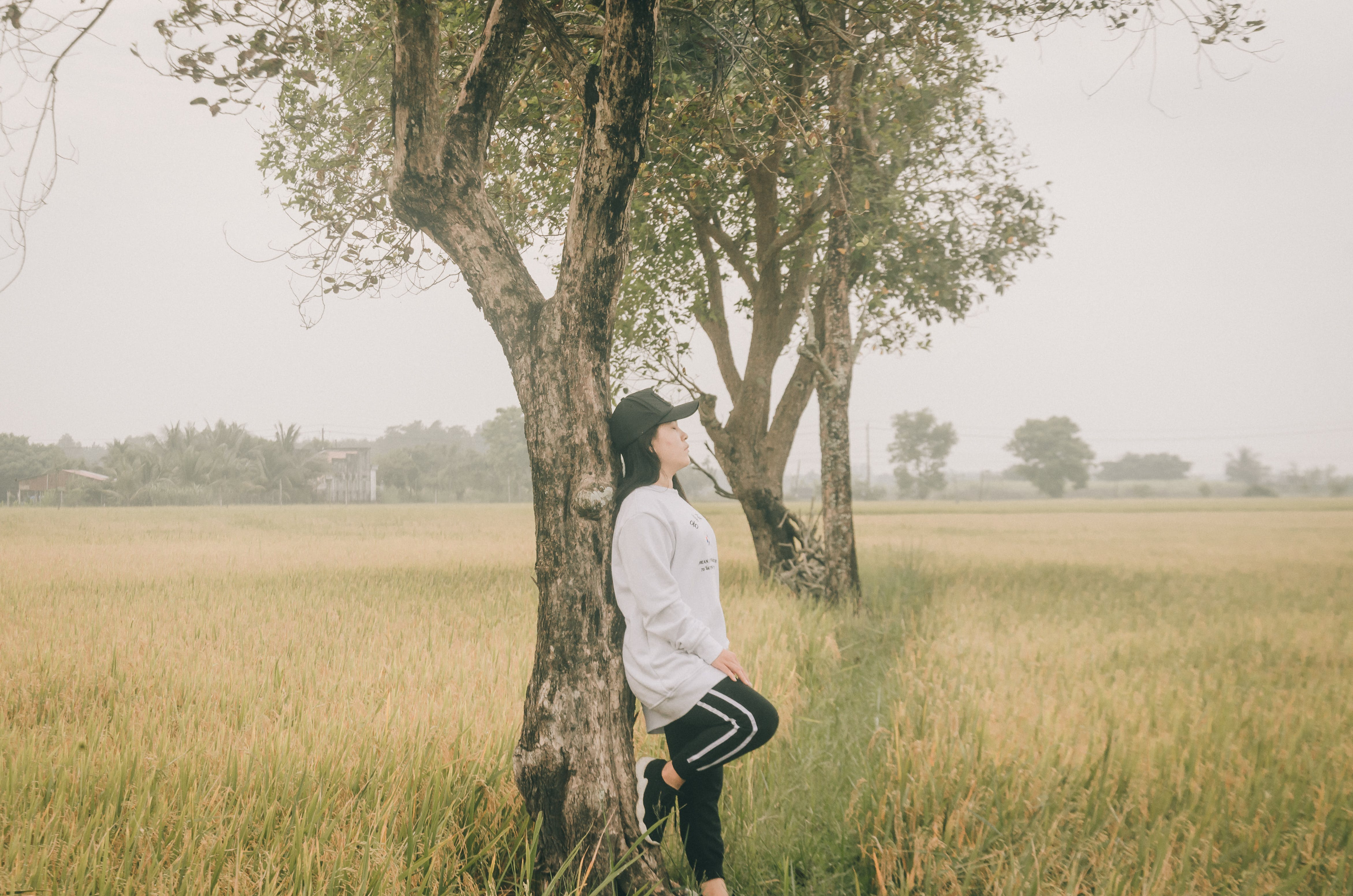 Free stock photo of alone, asian girl, beautiful girl, country girl