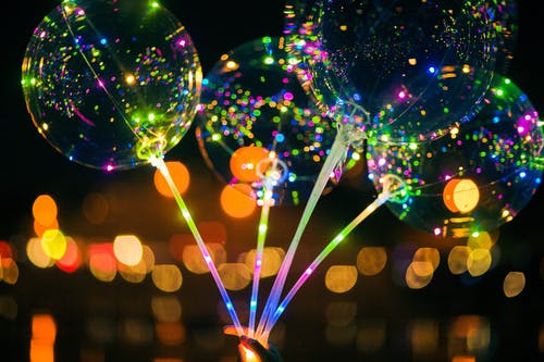 Gratis stockfoto met ballon, led lampjes