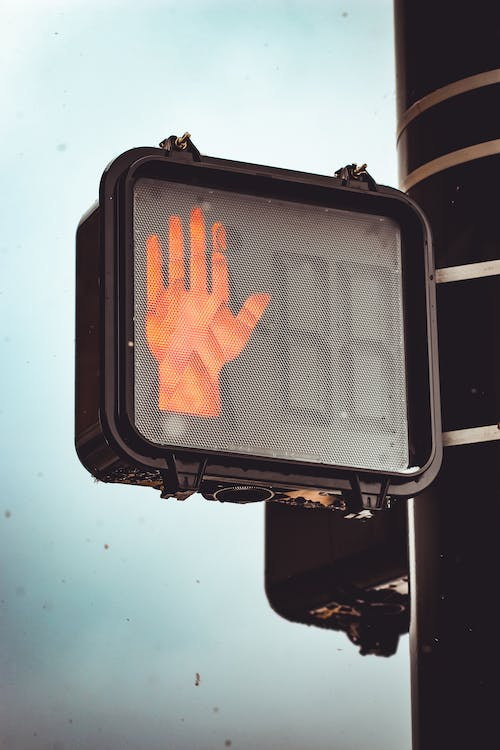 Free stock photo of light, moody, sign, stop