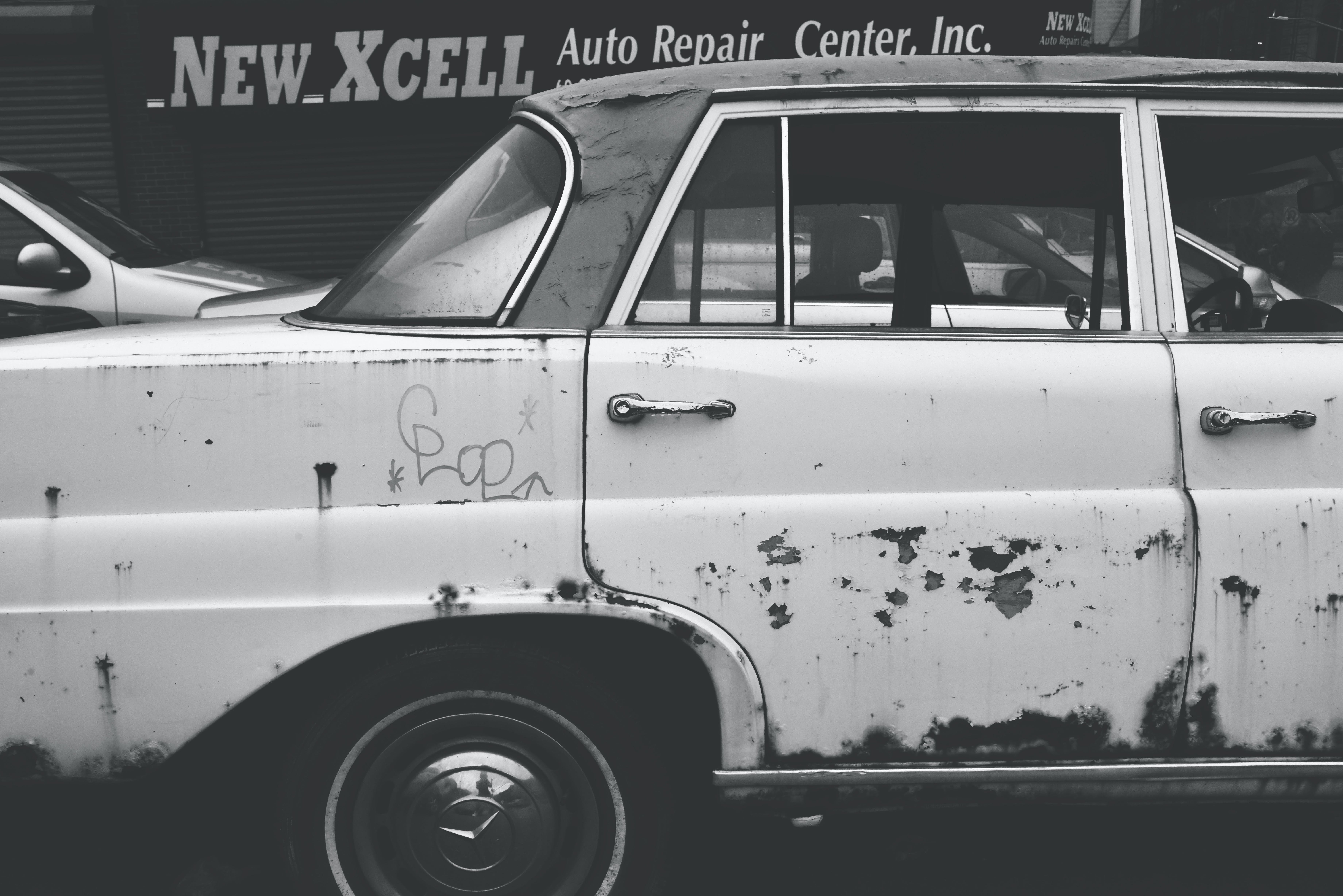 Free stock photo of old car