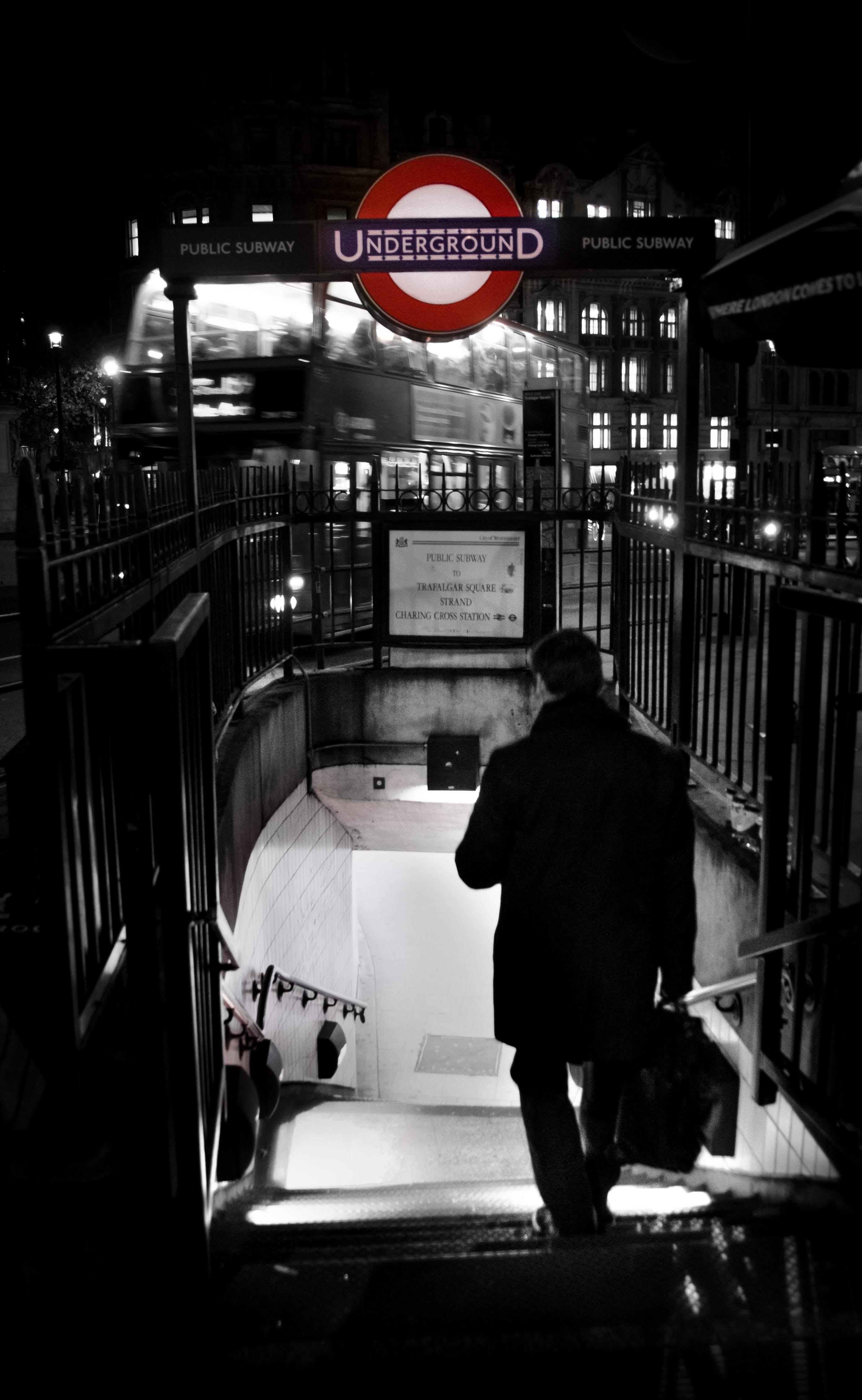 Free stock photo of stairs, businessman, man, night