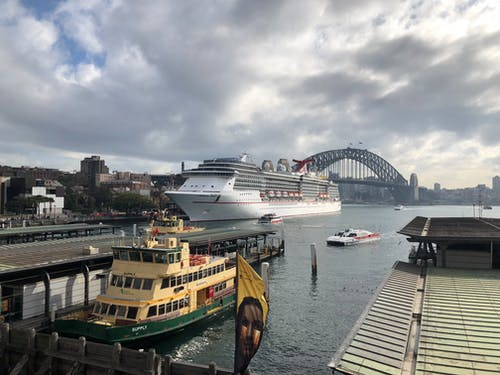 Free stock photo of australia, carnival spirit, cruise ship, ferry