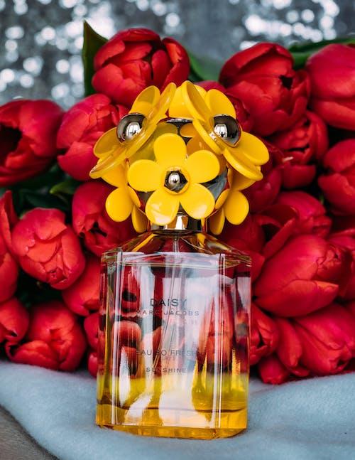 คลังภาพถ่ายฟรี ของ กระจก, กลีบดอก, การจัดดอกไม้, การจัดเรียง