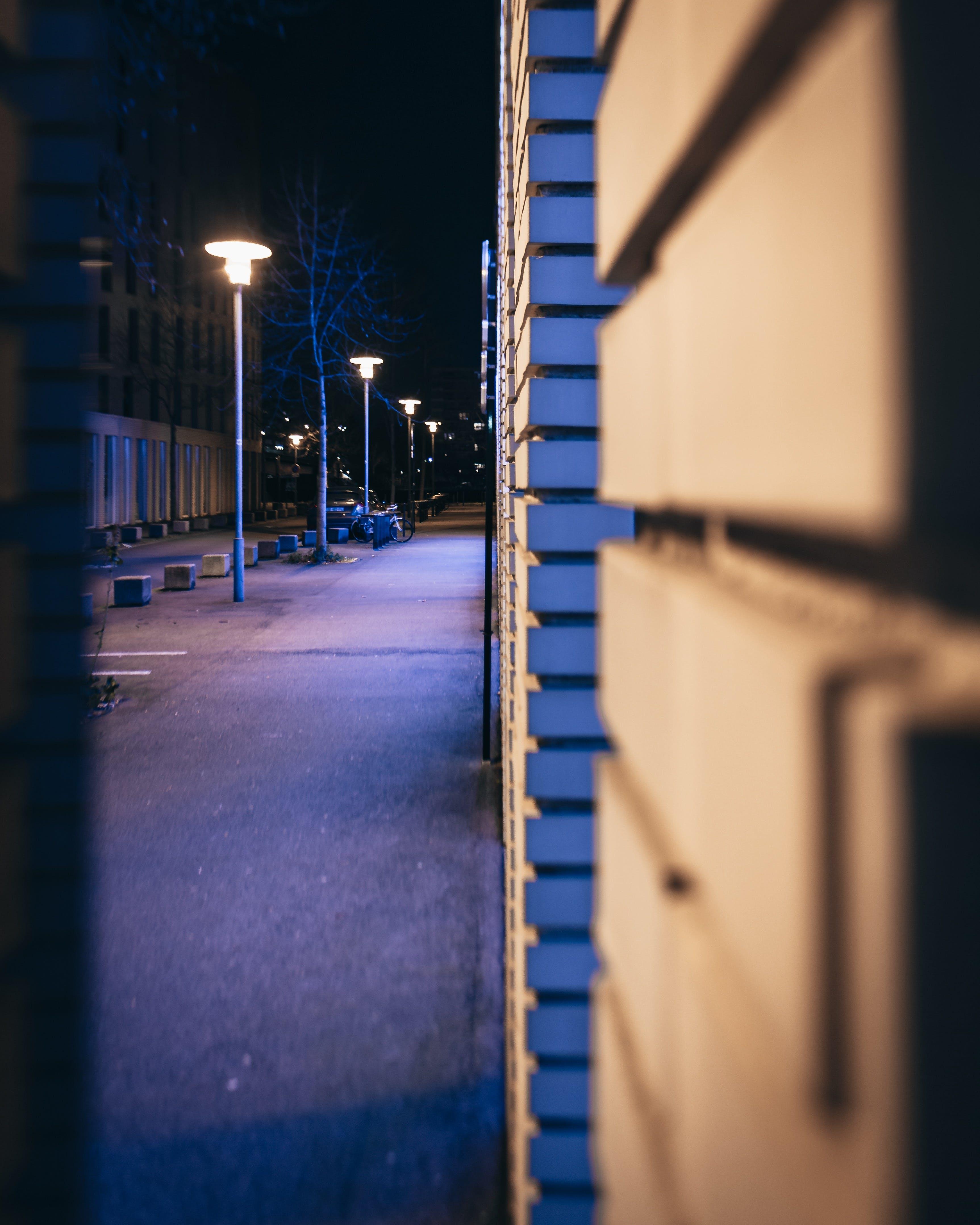 Free stock photo of Nantes, night, rue, street