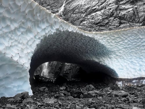 Free stock photo of cave, cold, ice, melt