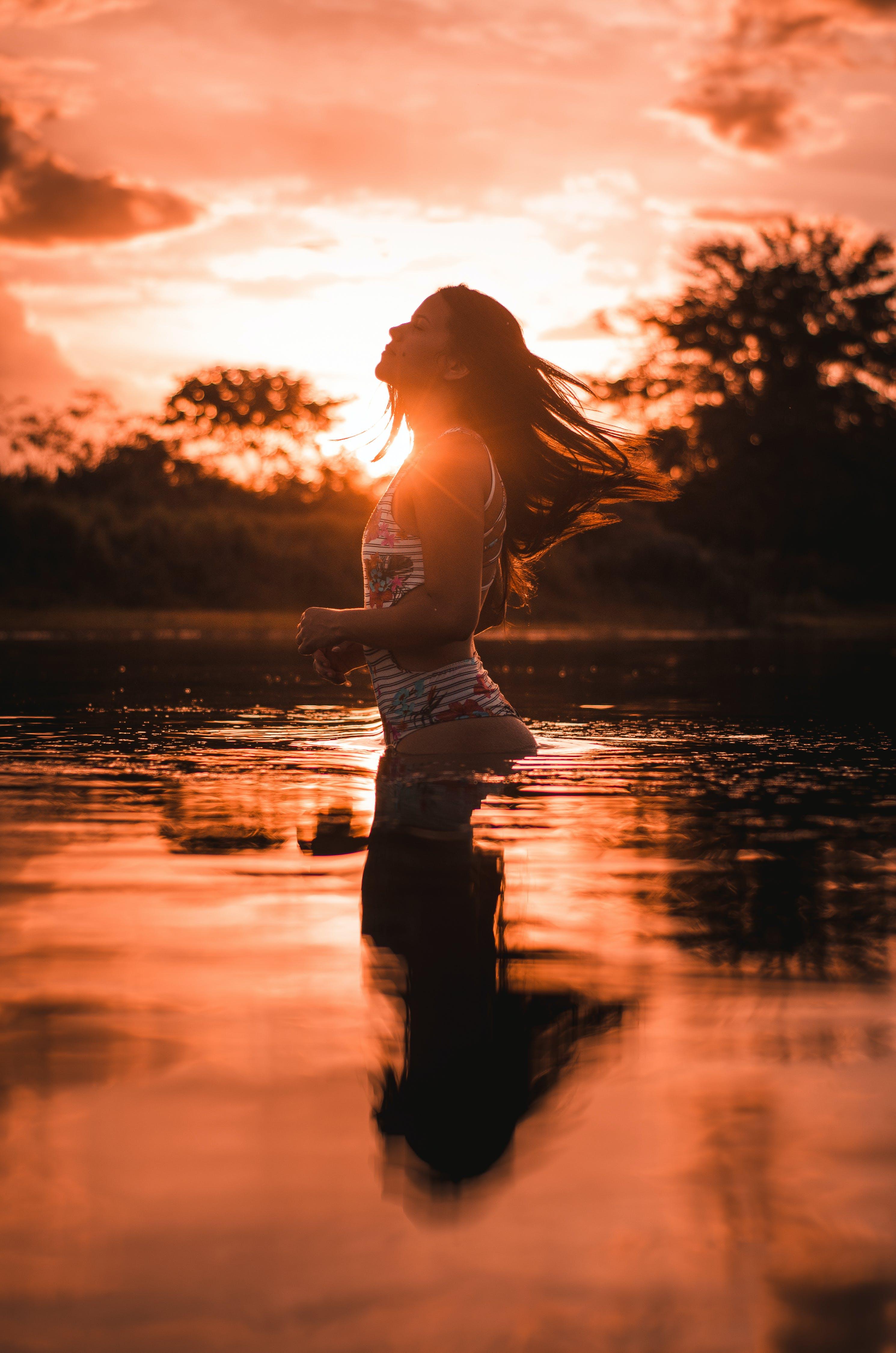 Základová fotografie zdarma na téma holka, horizont, krajina, malebný