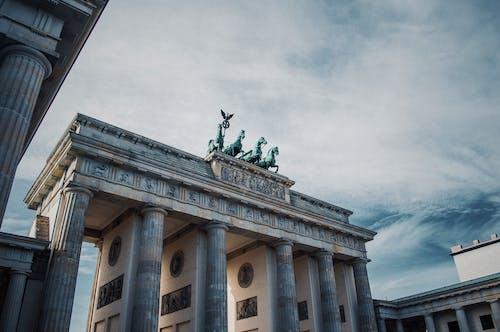 abide, Almanya, anıt, Berlin içeren Ücretsiz stok fotoğraf