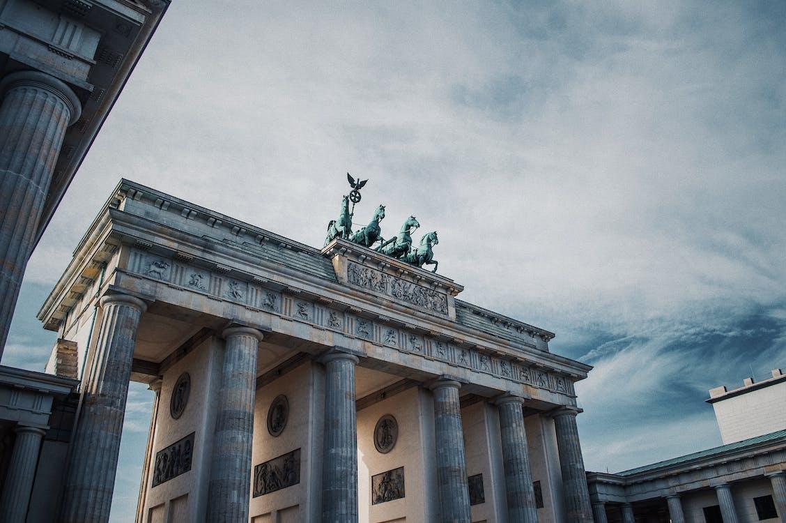 Foto Des Brandenburger Tors In Berlin, Deutschland