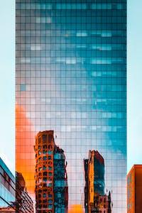 玻璃幕墙高楼
