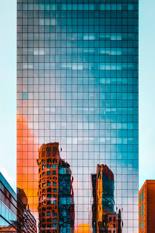 építészet, épületek, felhőkarcoló