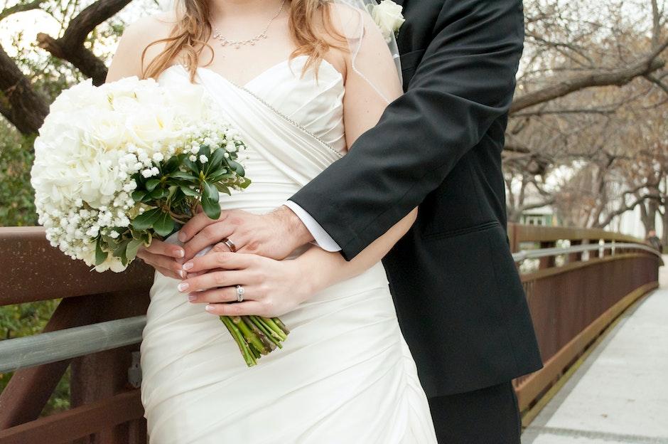 bouquet, bride, bridegroom