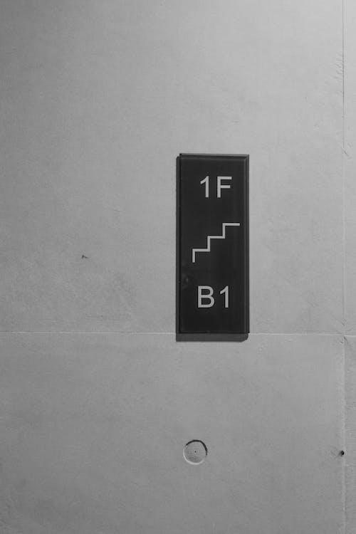 beton, bygning, dør
