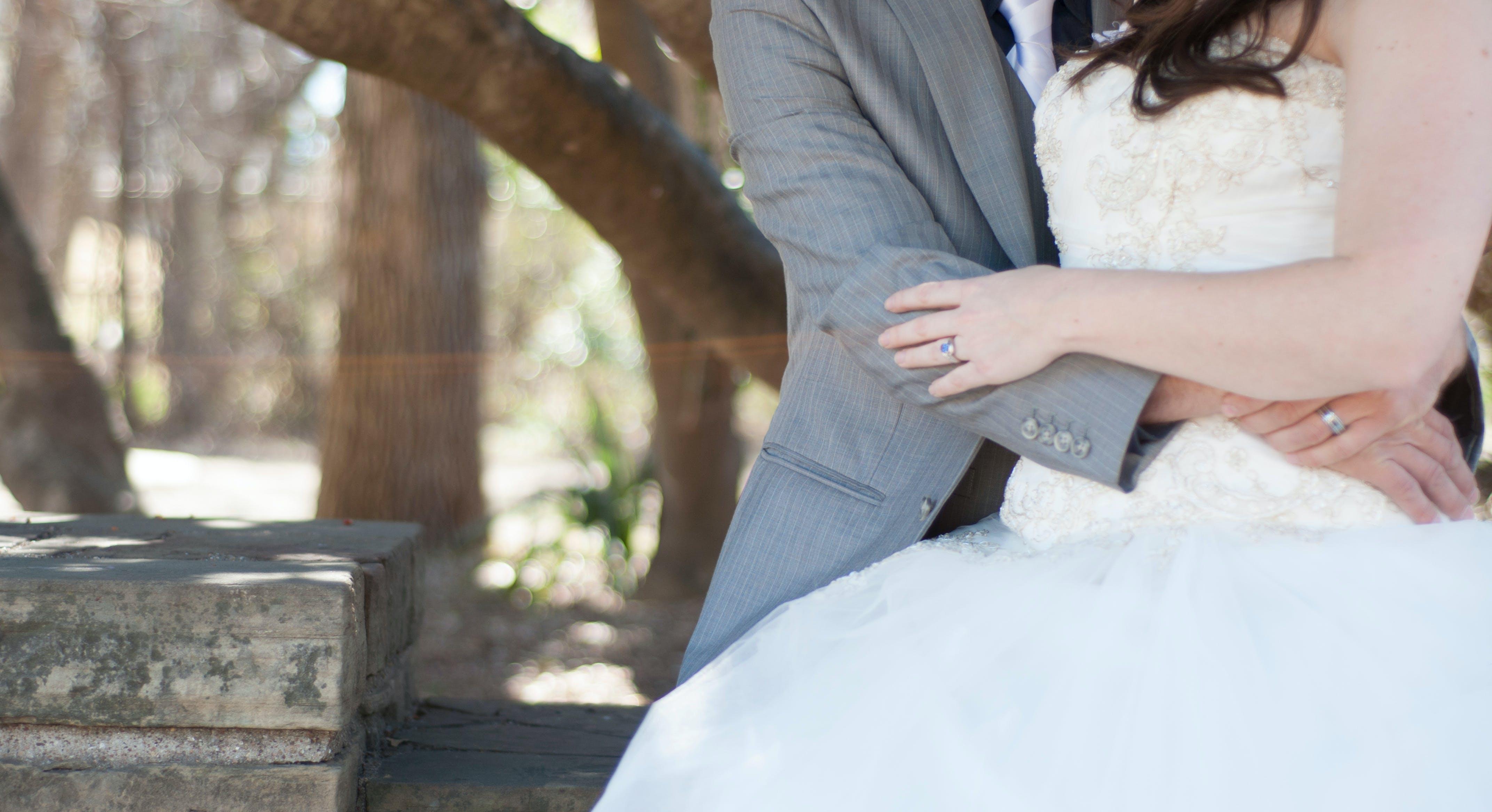 braut, bräutigam, heiraten