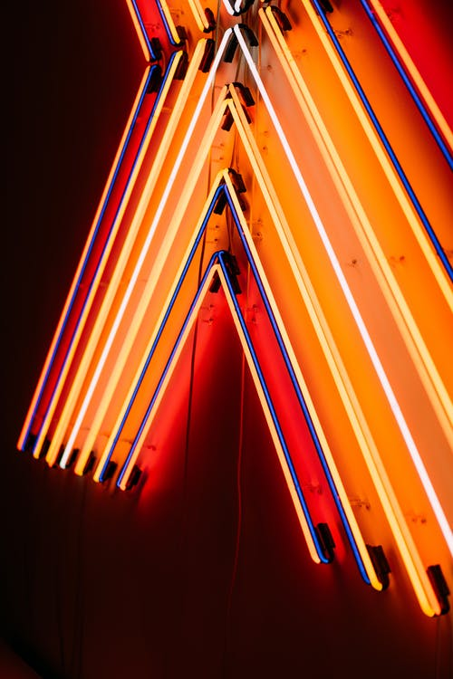 Photo of Lighted Neon Lights