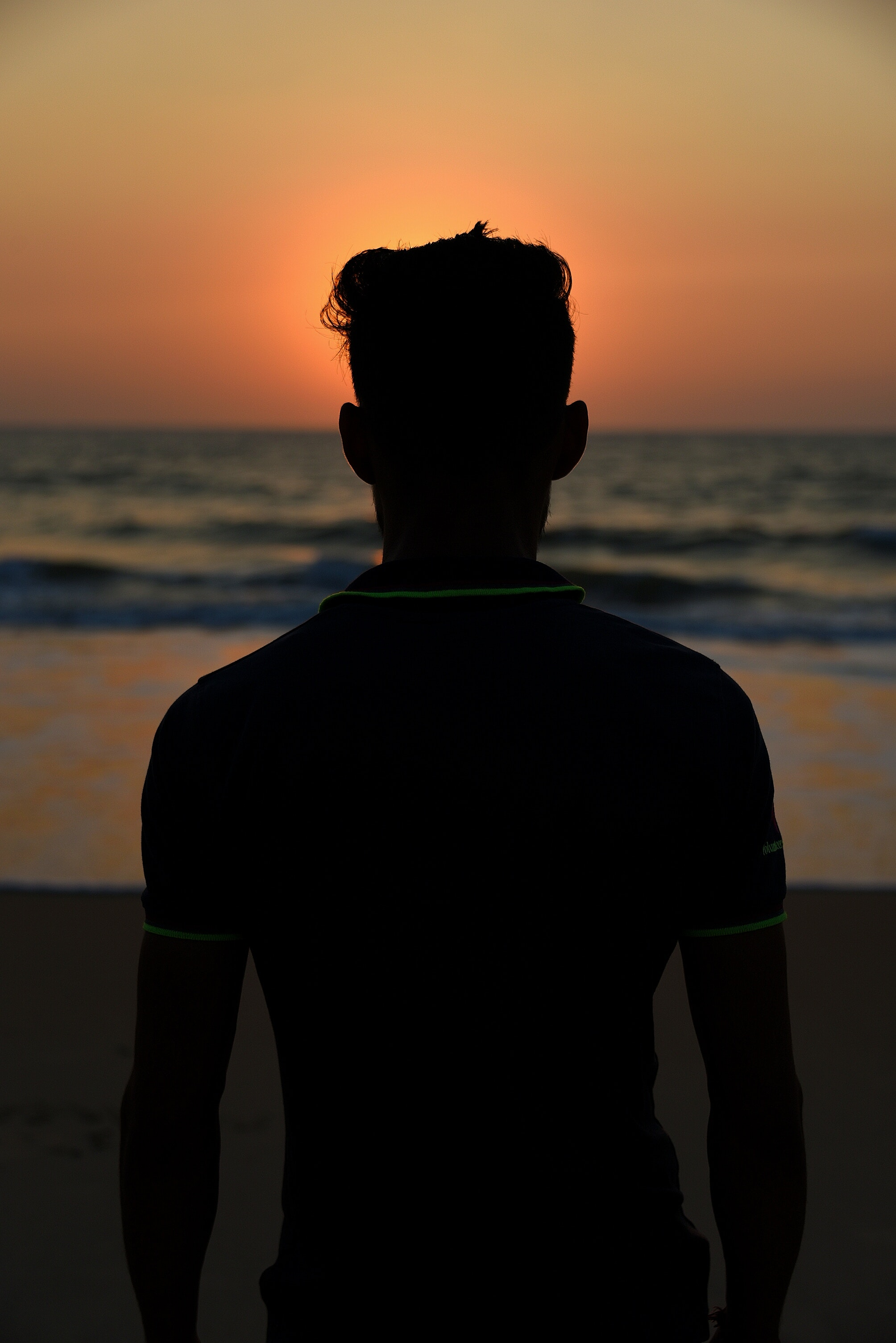 Free stock photo of back light, sunset, sunset beach
