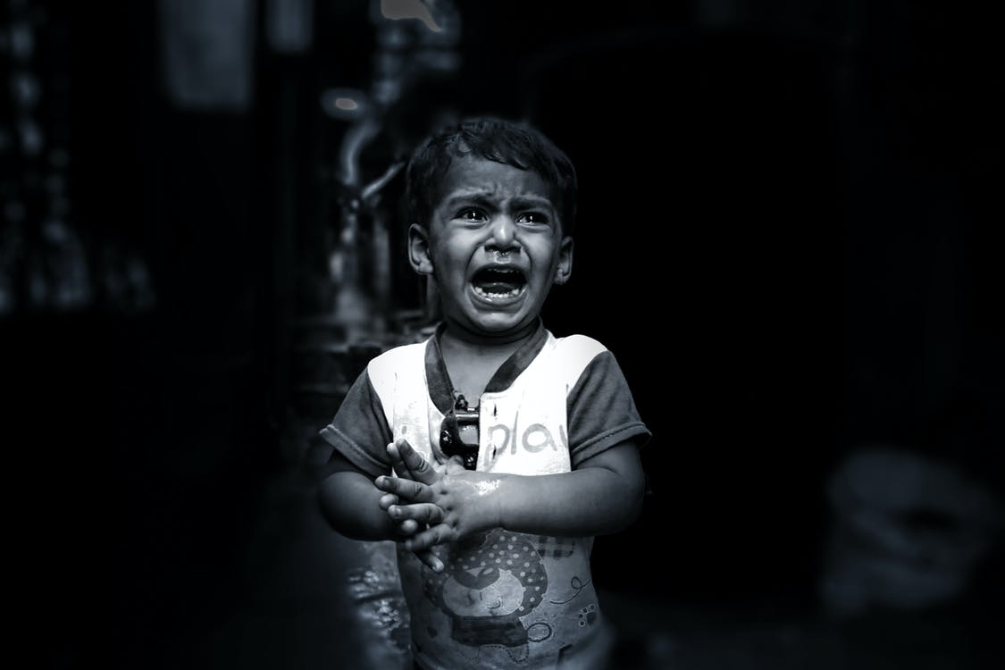 Free stock photo of child, crying, indian boy