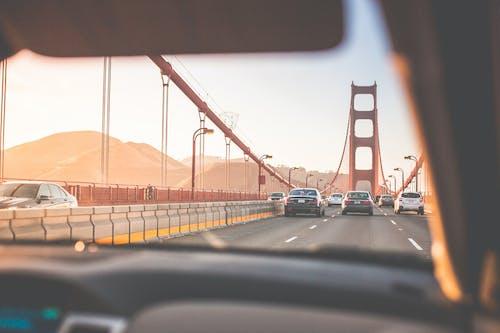 Základová fotografie zdarma na téma auta, cestování, dálnice, doprava