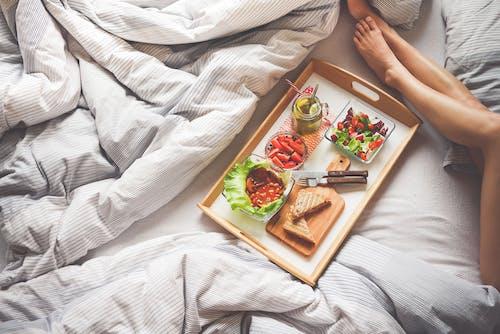 乾杯, 健康, 切菜板, 叉子 的 免费素材照片