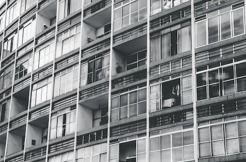 公寓樓, 外觀, 建築設計, 建造 的 免费素材照片