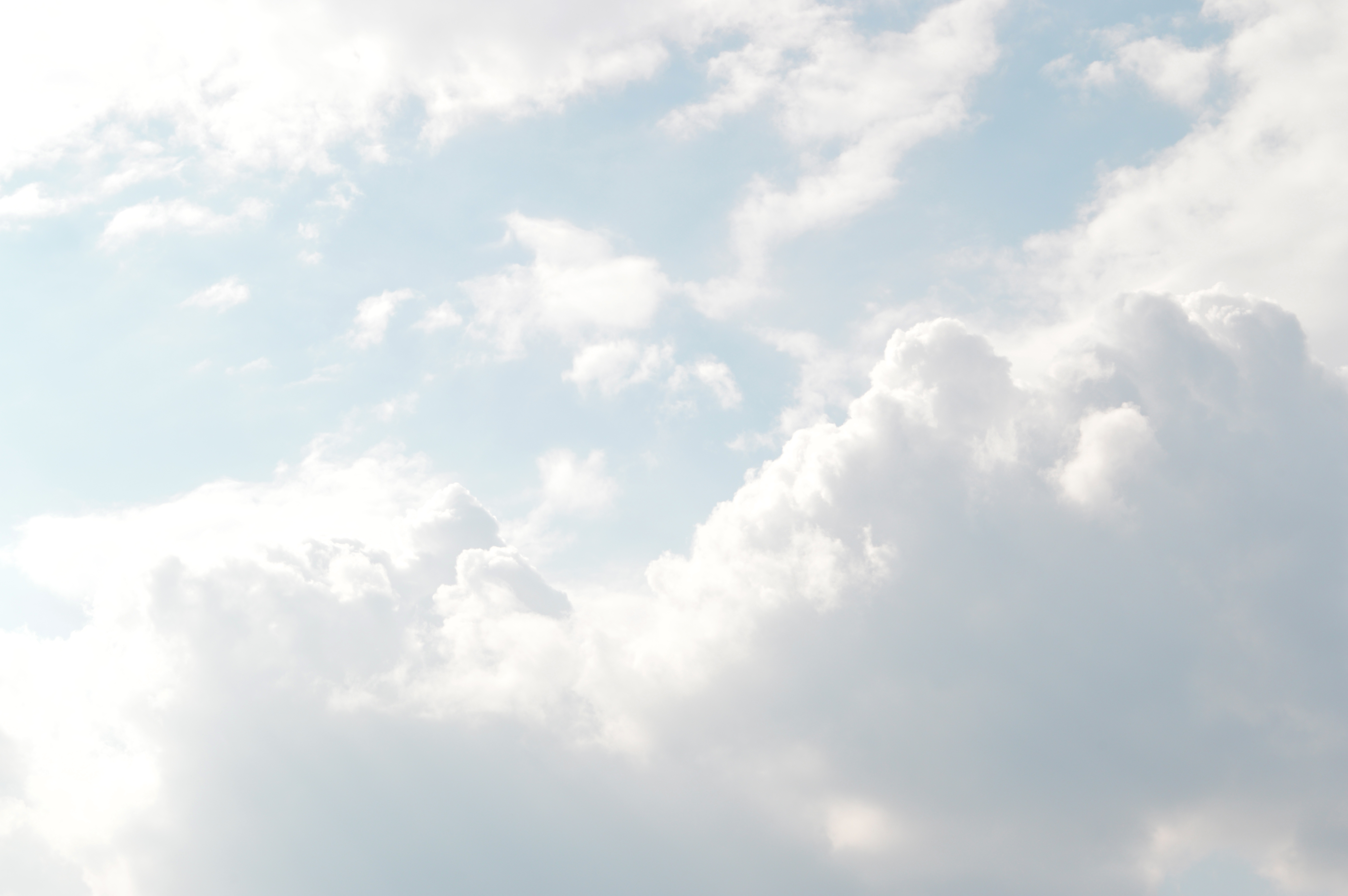 Atmosphere background bright clouds