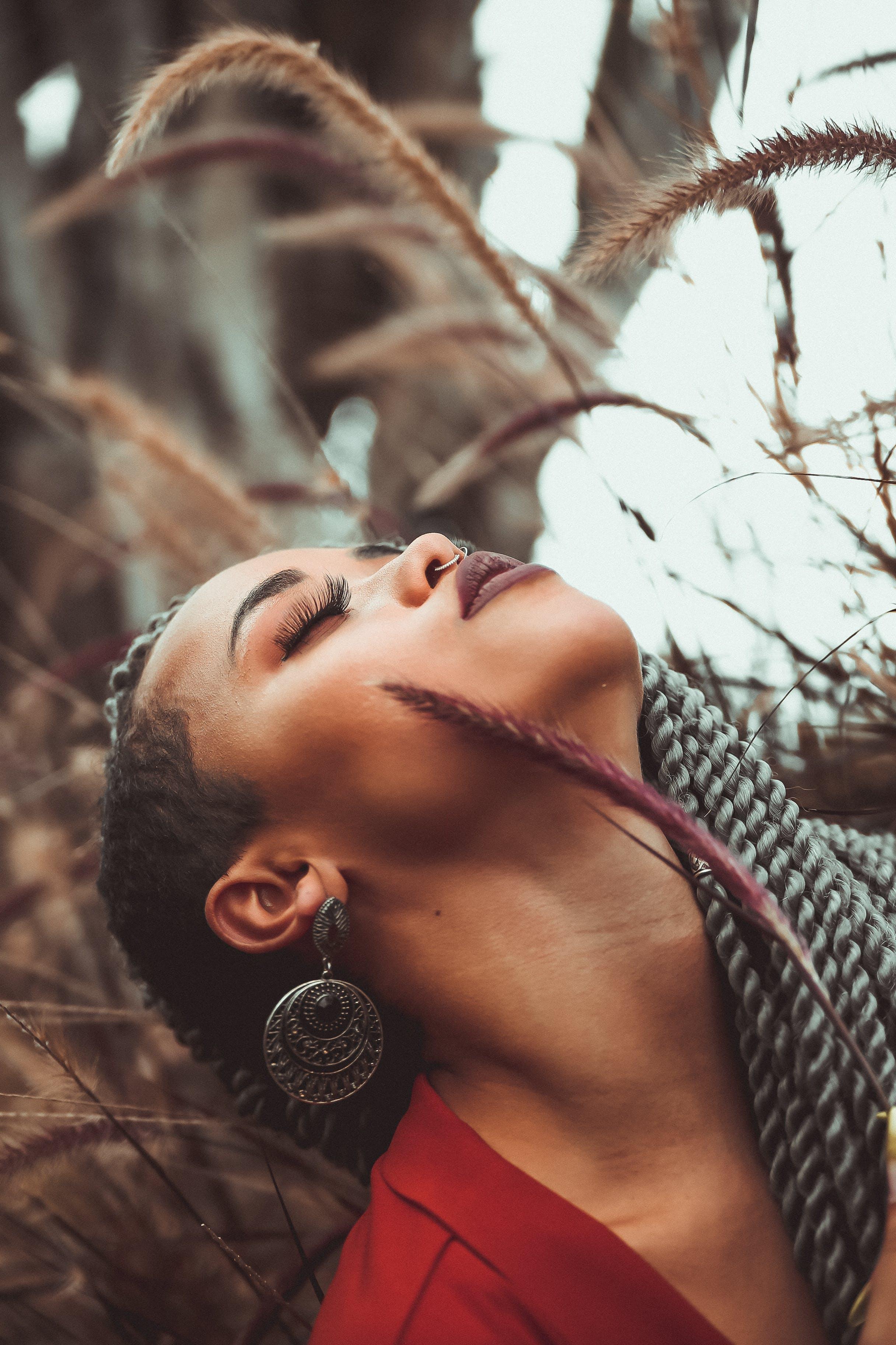 Gratis lagerfoto af afro, fletninger, følelse, hår