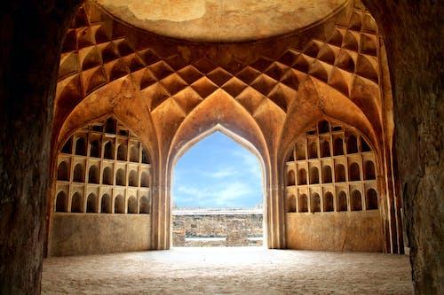 イスラム建築, ゴルコンダ, ゴルコンダフォート, ドームの無料の写真素材