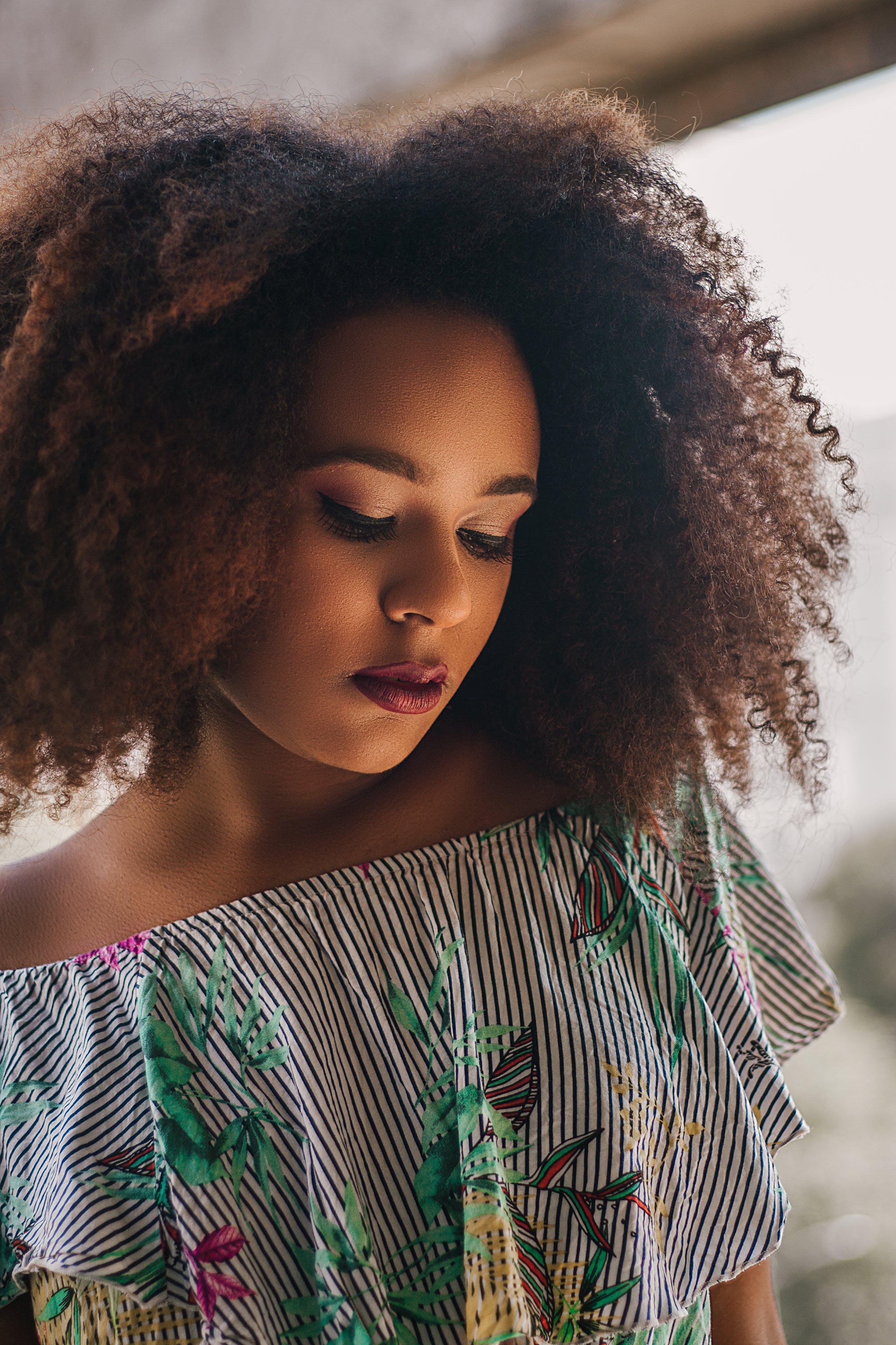 Photos gratuites de à la mode, afro, attirant, beau