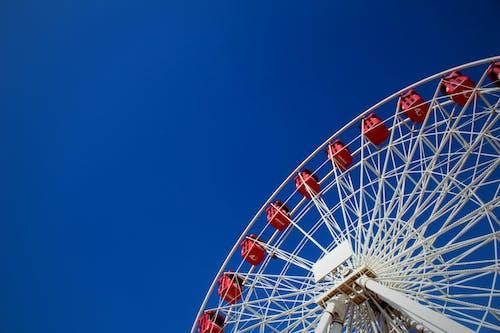 Free stock photo of algeria, big wheel, blue