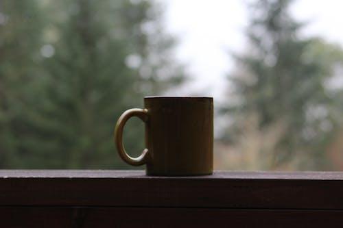 コーヒー, ポーチ, マグの無料の写真素材