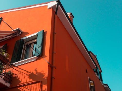 Free stock photo of aesthetic, aesthetics, architecture, blue