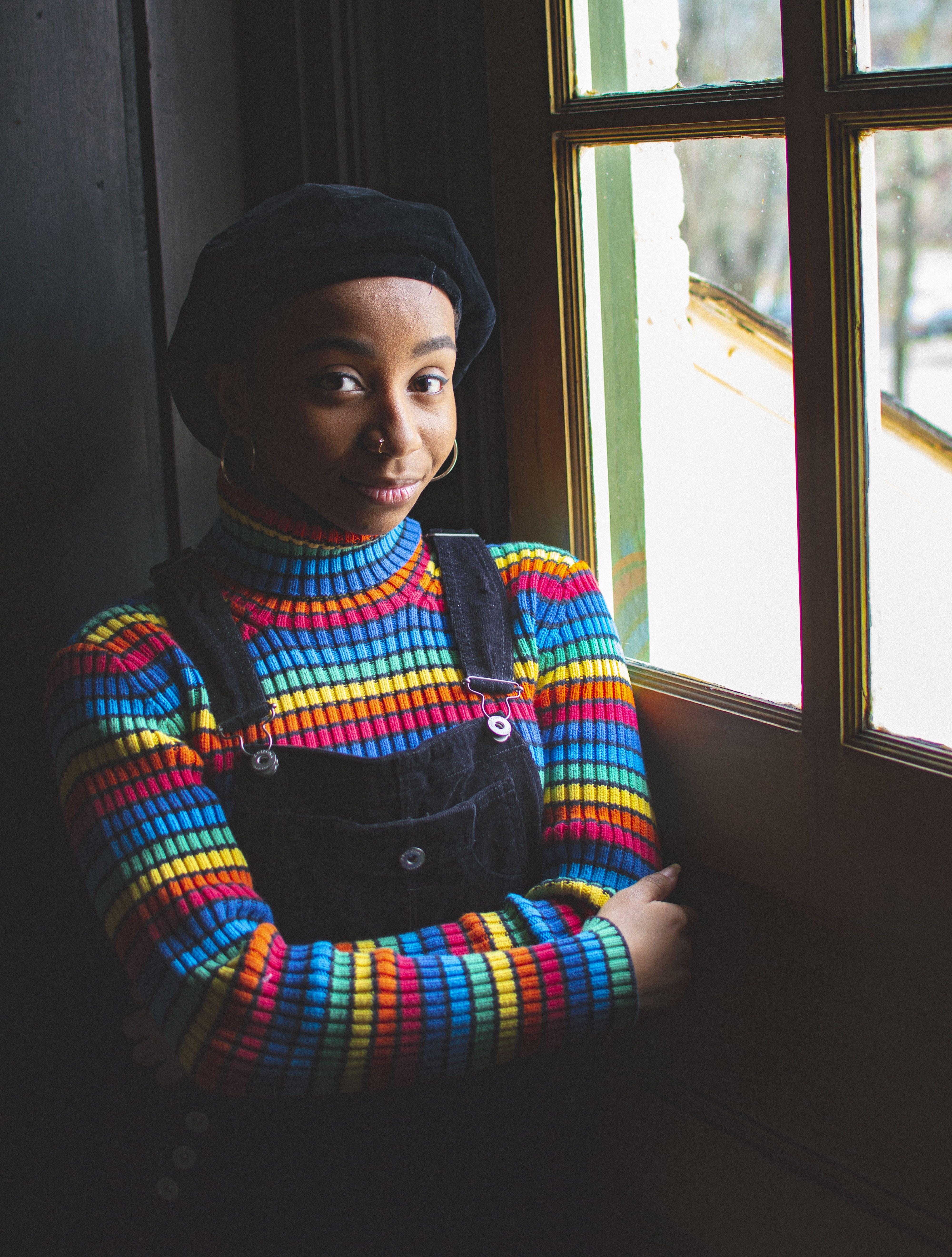 ほほえむ, アフリカ系アメリカ人女性, 人, 女性の無料の写真素材
